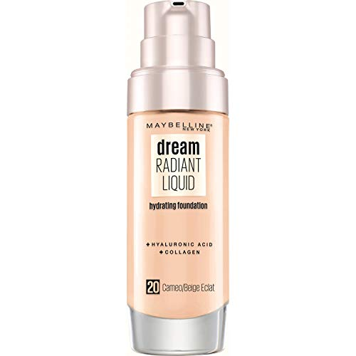 Maybelline New York - Fond de Teint soin hydratant - Dream Radiant liquid - Beige Éclat (20) - 30 ml