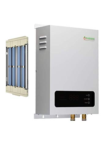 Sio Green SIO18 v2 Infrared Electric Tankless Water Heater - Instant Hot Water Heater - Corrosion Free - Free Maintenance - 220v - 240v / 80A / 18kW