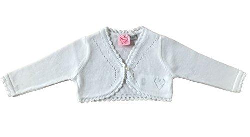 Chicco - Ropa de bautizo - bolero - para bebé niña Weiß 92 cm