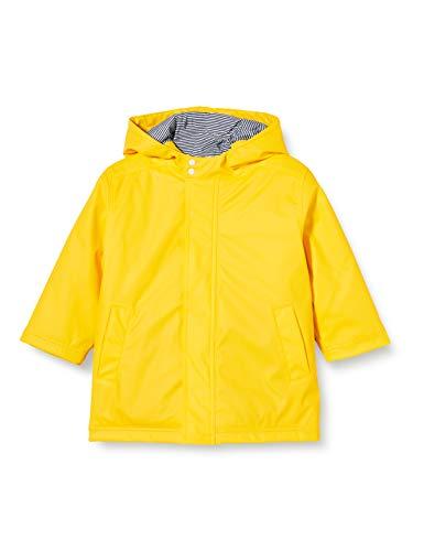 Petit Bateau Unisex 5726201 Regenmantel, gelb, 8 Jahre