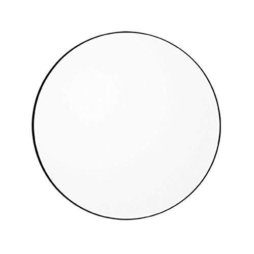 AYTM - Circum - Spiegel - MDF/spiegelglas - zwart - Ø 90cm x H: 2cm