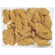 Tyson Red Label Select Cut Golden Crispy Uncooked Breaded Chicken Breast Tenderloin, 5 Pound -- 2 per case.