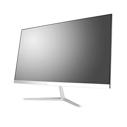 Lautloser All-in-One PC 60,5cm (23,8 Zoll) - CSL Unity F24B / 240GB / Win10 Home - Silent-PC mit Intel QuadCore CPU 4X 2300MHz, 240GB SSD, 4GB RAM, AC WLAN, USB 3.1