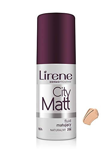 Lirene - CITY MATT matting-smoothing make up - naturel (30 ml)