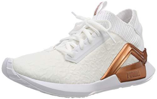 Puma Damen Rogue Metallic Wn's Laufschuhe, Weiß (Puma White-Rose Gold), 40 EU