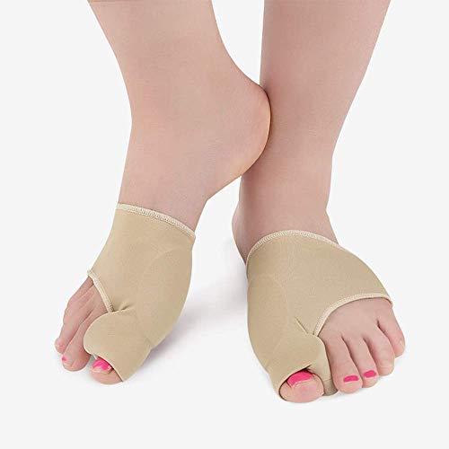 Bequeme Zehentragen Fußpflegeprodukte, die Druck und Reibung an Zehen oder Fingern lindern Einfaches Tragen in Schuhen Silikonschienen 1PCS, L.