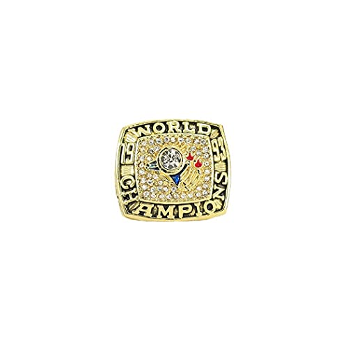 CLCL Anillo de Hombre MLB 1993 Season Toronto Blue Jays Championship Ring Champion Ring Superbowl Rings Replica Creative Ring para Mujeres y Hombres, Without Box, 11#
