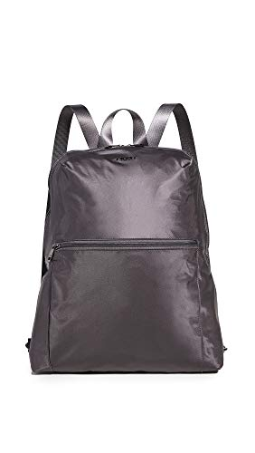TUMI - Voyageur Just In Case Backpack - Lightweight Foldable Packable Travel Daypack for Women - Iron/Black