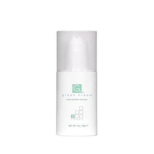 Green Cream - High Potency Retinol - Level 3-1oz Airless Pump