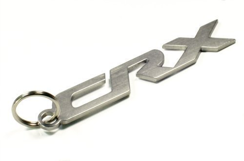 CRX Auto Schlüsselanhänger aus Edelstahl Dub