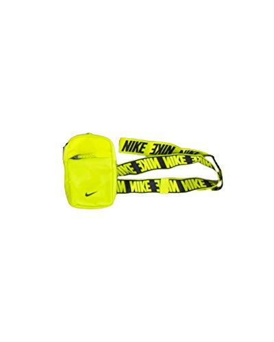 NIKE Sportswear Essentials, Riñonera Unisex Adulto, Cyber/Cyber/Black, Small