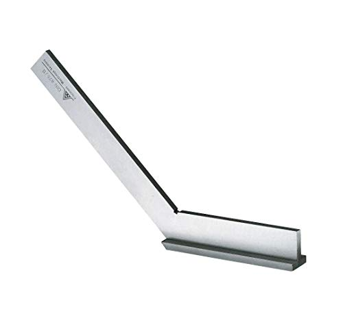 RBM Precision Steel Angle DIN875-1 Stainless Steel with Stop Side Length 150 x 100 mm