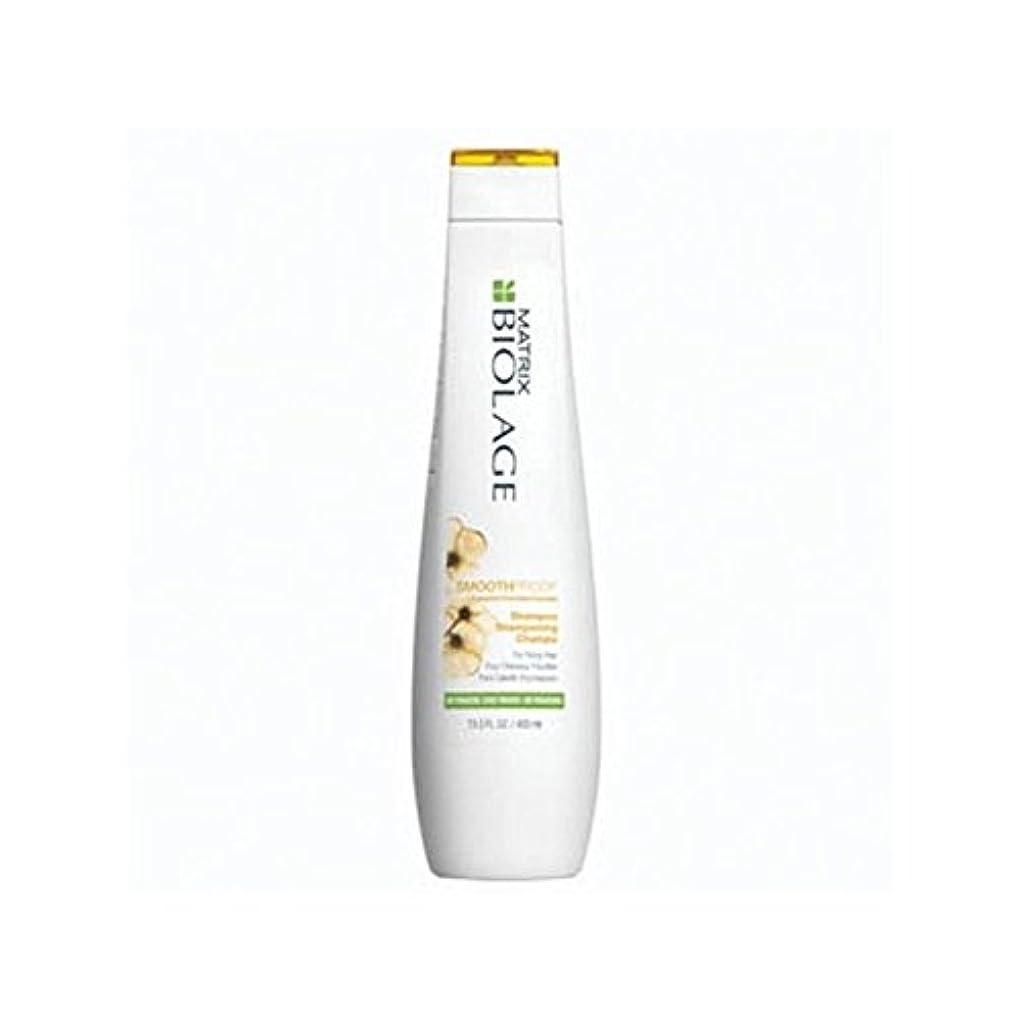 思想こだわり光のマトリックスバイオレイジのシャンプー(400ミリリットル) x4 - Matrix Biolage Smoothproof Shampoo (400ml) (Pack of 4) [並行輸入品]