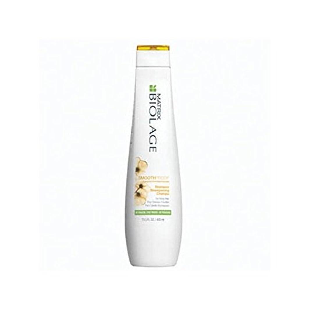 優れたホームレス泥マトリックスバイオレイジのシャンプー(400ミリリットル) x4 - Matrix Biolage Smoothproof Shampoo (400ml) (Pack of 4) [並行輸入品]