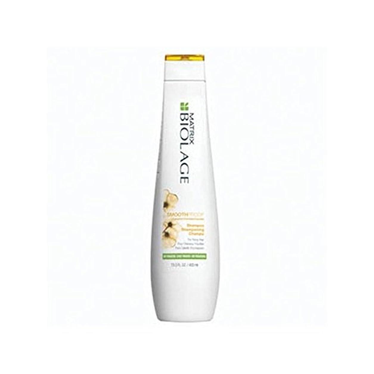 忙しい履歴書溝Matrix Biolage Smoothproof Shampoo (400ml) (Pack of 6) - マトリックスバイオレイジのシャンプー(400ミリリットル) x6 [並行輸入品]