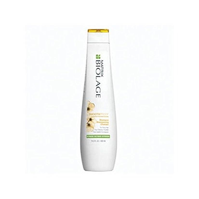 クライストチャーチ意欲溶かすマトリックスバイオレイジのシャンプー(400ミリリットル) x4 - Matrix Biolage Smoothproof Shampoo (400ml) (Pack of 4) [並行輸入品]