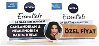 Nivea Essentials Canlandırıcı Gündüz Kremi 50 ml Normal-Karma Cilt 2'li