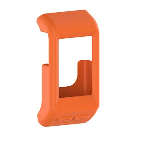 iFeeker soft silicone case cover protective case for fitness Garmin Vivoactive HR GPS smart watch Orange