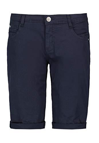 Sublevel Damen Baumwoll Bermuda-Shorts im Chino Stil Dark-Blue M