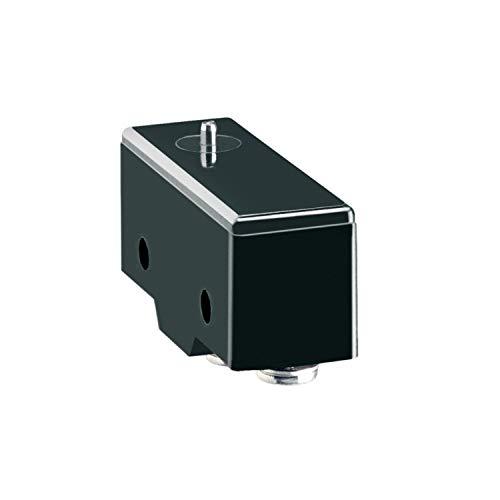 Microinterruptor de pistón, terminal faston, 1 conmutado, plástico y metal, 0,7 x 10 x 10,6 centímetros, color negro (Referencia: KSA1F)