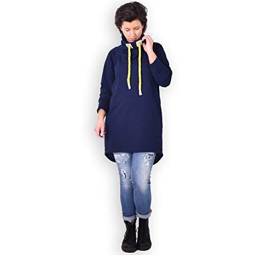 leni pepunkt Schnittmuster Pullover Damen Raglan in den Größen XS - XXXL zum Nähen mit Kurzanleitung und 5 Webetiketten