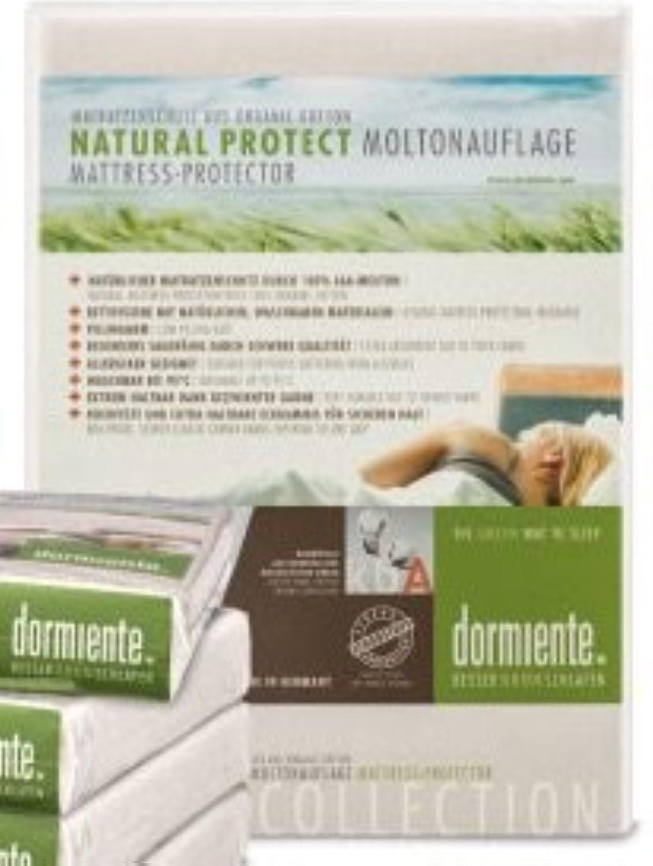 Dormiente Moltonauflage Natural Protect, KBA Baumwolle, mit Spanngummis 180x220 cm