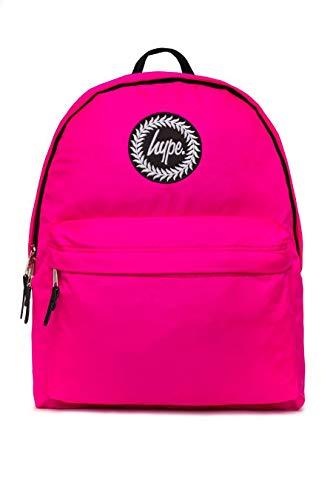 Hype Backpack Bag - School Bag - Purple Fluro