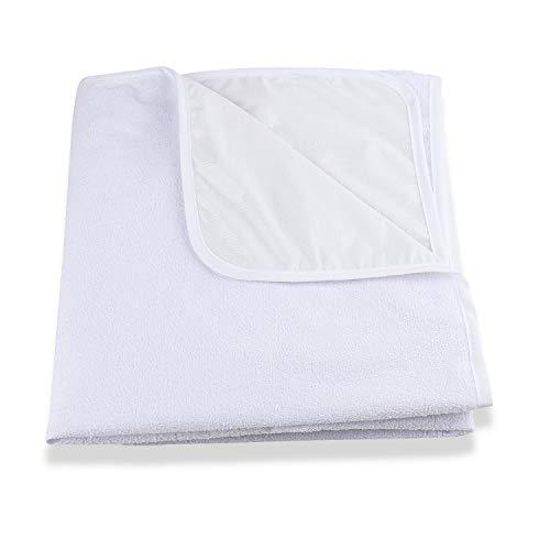 Aishces Wasserdicht Matratzenschoner 60 x 120 cm Baby Matratzenauflage Atmungsaktive, Baumwolle, Anti-allergisch Matratzenschutz für Babybett