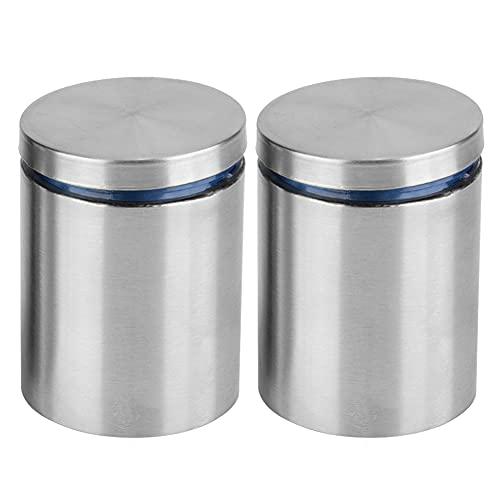 Soporte de pared para tuercas y tornillos, 2 unidades, 40 x 50 mm, acero inoxidable
