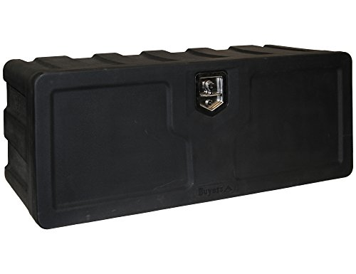 Buyers Products 1717110 Black Poly Underbody Truck Box (18x18x48 Inch)