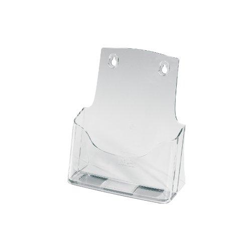 SIGEL LH112 Porta-folletos de sobremesa acrylic, con 1 compartimento, Material acrílico, para A5, 1 unds