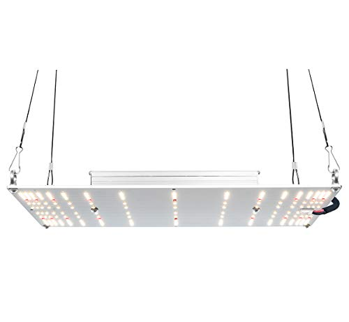 Fissioning LED Grow Light Matrix 120W Full Spectrum with Samsung LM301H 3500K, Osram 660nm and 730nm, Meanwell Driver HLG-120H-54A, Dimmable