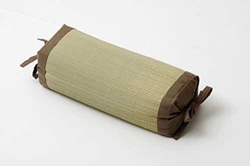 Ikea Hiko, traditionelles japanisches Kissen, aus natürlichem Igusa-Gras, höhenverstellbar, 30 x 15 cm, hergestellt in Japan, Braun