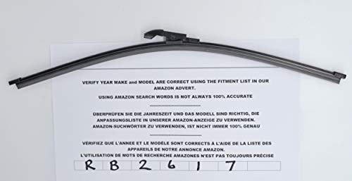 RB142 Par de delantero limpiaparabrisas trasero cuchillas plus 55/ 53/