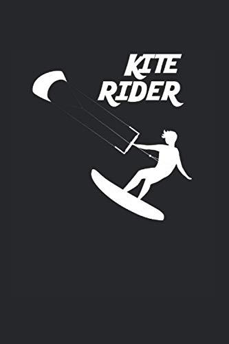 Kite Rider | Kitesurfen Tagebuch Geschenkidee: Trainingsnotizen Notizbuch A5 120 Seiten liniert