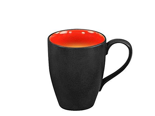 CreaTable HOT RED Kaffeebecher 30 cl/Tasse/Steinzeug/Trinkbecher