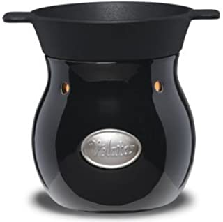 Scentsy Noir Velata Fondue Warmer with Free Milk Chocolate & 4 Dipping Forks