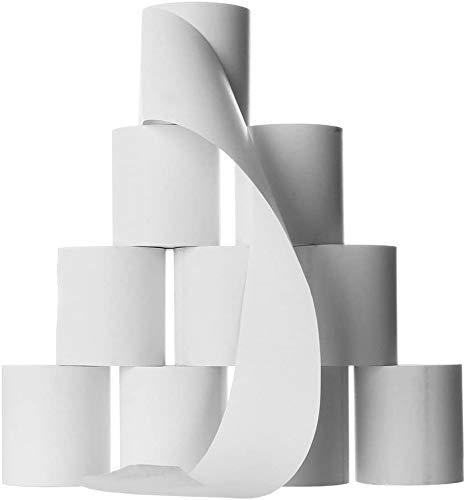 50 Thermorollen für Epson - 80mm breit - 80m lang - Thermo Bonrollen 80x80x12 - Kassenrollen 80/80/12 weiss - HKR-Welt® Rollen aus 48g/m² Thermopapier - BPA (Bisphenol-A) frei