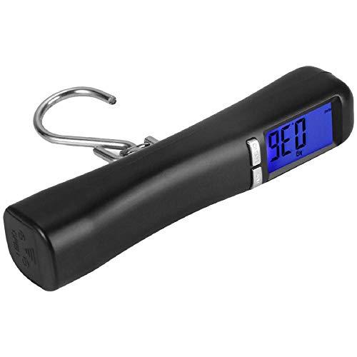 40Kg / 10g Haak Visserij Weegschaal LCD Digitaal Wegen Voor Reisbagage Bagage Koffer Zak Gewicht Elektronische Hangbalans Vis A