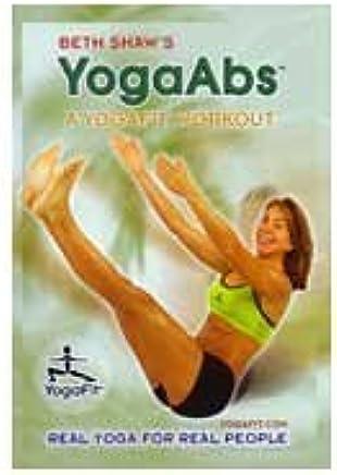 Amazon.com: Beth Shaw: Yoga Abs - A Yogafit Workout: Beth ...