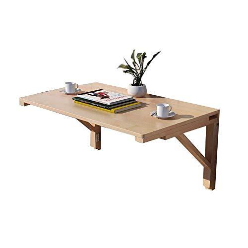 HAIZHEN Mesas Mesa de Pared, escritorios de Madera, Cocina Plegable y Mesa...