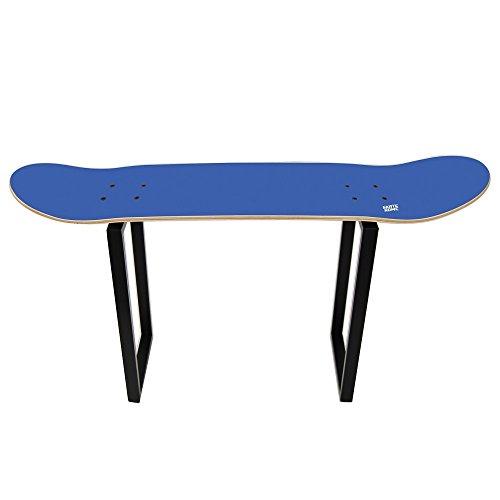 Skateboard möbel für die Sport Dekoration junger Skater, hoher Hocker blau