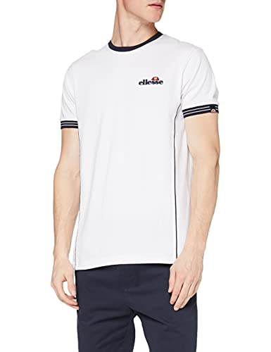ellesse Herren T-Shirt Terracotta Gr. L, weiß