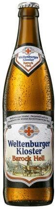 Weltenburger Kloster Barock Hell 18 Flaschen x0,5l