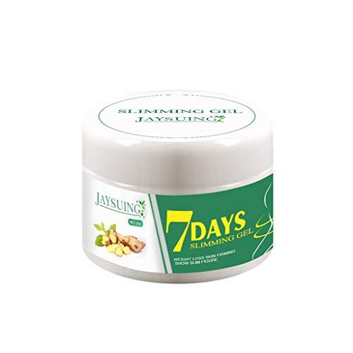Takkar Crema anticelulítica - Tratamiento rápido de la celulitis para las piernas, el vientre y los glúteos - Crema adelgazante natural para quemar grasa - Crema caliente para perder peso, blanco
