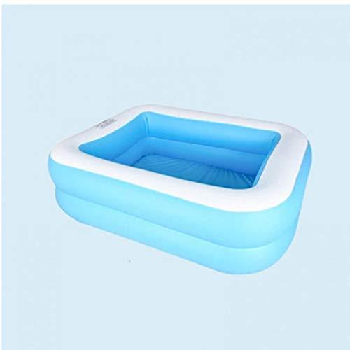 1PC aufblasbarer Swimmingpool PVC-Wasser-Spaß aufblasbares Pool für Kinder Erwachsene im Freien Hinterhof-Sommer für den Urlaub