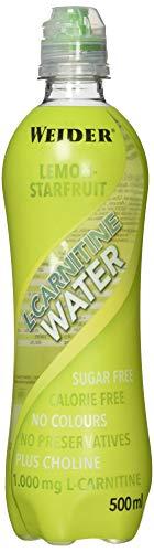 Weider L-Carnitine Water, Limone-Sternfrucht, 500 ml