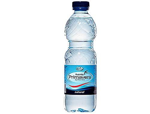 24 Botellas de agua mineral natural Fuente Primavera 330 ml/und