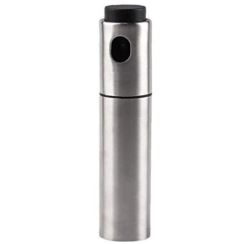 1pc Aceite Pulverizador Dispensador De Aceite En Aerosol Botella Reutilizable Aceite En Aerosol Bomba De Aceite Del Atomizador Del Aerosol De La Botella De Acero Inoxidable Dispensador De Aceite Para