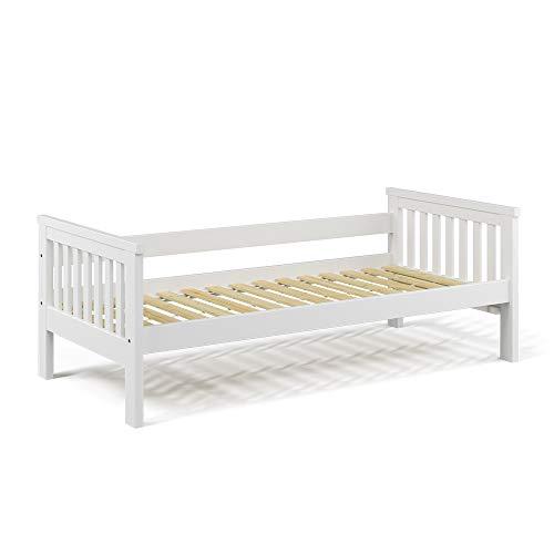 VitaliSpa Tagesbett Luna Kinderbett 90x200cm Kojenbett Jugendbett Bettgestell (Bettgestell)